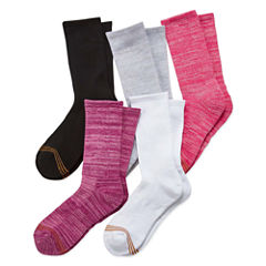 Gold Toe 5 Pair Crew Socks