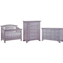Centennial Medford 3-PC Baby Furniture Set- Grey