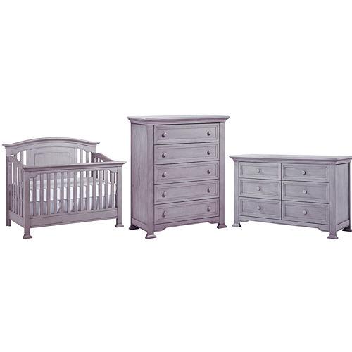 Centennial Medford 3-PC Baby Furniture Set- Grey