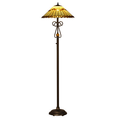 dale tiffany led jerome floor lamp