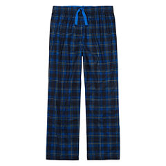 Arizona BMJ Blue Plaid Sleep Pant - Boys 4-20 & Husky