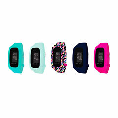 B-Fit Women's Activity Tracker & 5pc. Interchangeable Band Set-Ba2222bk607-078