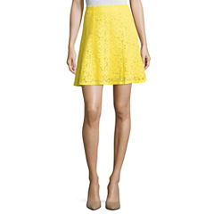 Project Runway Lace Flared Skirt