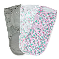 Summer Infant 3-pc. Swaddle Blanket
