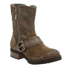 Clarks Faralyn Rise Womens Motorcycle Boots Wide