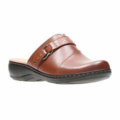 Clarks Leisa Sadie Leather Womens Casual