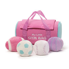 Gund My Little Gym Bag Playset 5-pc. Plush Play Sets
