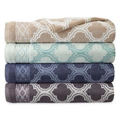 Royal Velvet Venice Jacquard Bath Towels