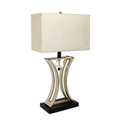 Elegant Designs Metal Table Lamp