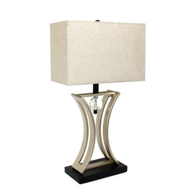 Elegant Designs Metal Table Lamp