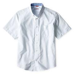 IZOD® Short-Sleeve Oxford Shirt - Boys 8-20
