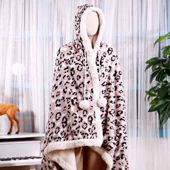 Chic Home Leopard Blanket
