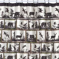 Creative Bath™ Rustic Montage Shower Curtain
