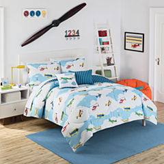 Waverly In The Clouds Midweight Reversible Comforter Set