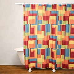 Crayola Paint Box No Liner Shower Curtain