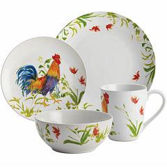 BonJour® Meadow Rooster 16-pc. Dinnerware Set