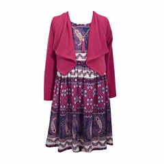 Bonnie Jean 2-pc. Jacket Dress Preschool Girls