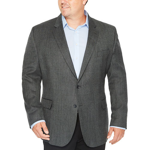 Stafford Merino Wool Sportcoat - Big and Tall