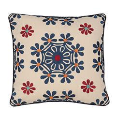 Levtex Yasemin Square Medallion Decorative Pillow