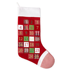 North Pole Trading Co. Jumbo Advent Stocking