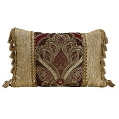 Croscill Classics® Royal Red Boudoir Decorative Pillow