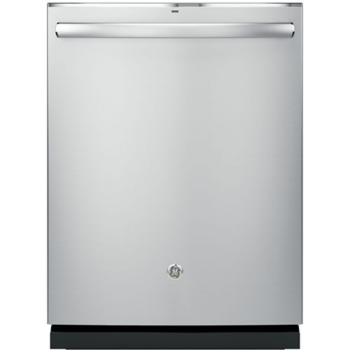 GE® Stainless-Steel Interior Dishwasher with Hidden Controls