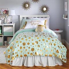 Frank and Lulu Gold Dust Comforter Set