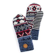 Muk Luks Freedom Potholder Knit Midweight Mittens