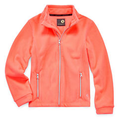 Xersion Lightweight Fleece Jacket-Big Kid Girls Plus