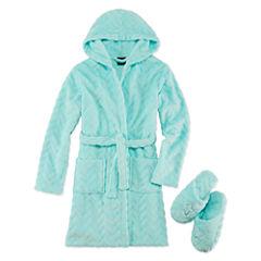 Jelli Fish Kids Robe Set Long Sleeve Kimono Robes Preschool Girls