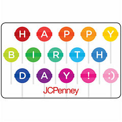 Birthday Lollipops Gft Card