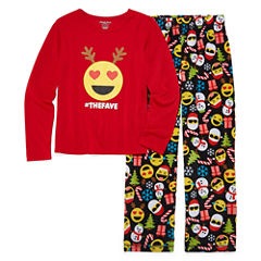 North Pole Trading Co. Family Pajamas 2-pc. Pant Pajama Set Unisex