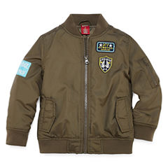 Arizona Boys Midweight Motorcycle Jacket-Toddler