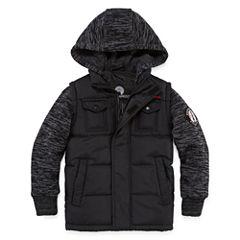 Weatherproof Vest with Sleeves Jacket - Boys Big Kid