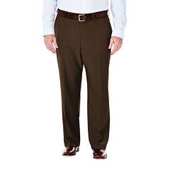 Haggar® eCLo™ Stria Classic-Fit Flat-Front Dress Pants - Big & Tall