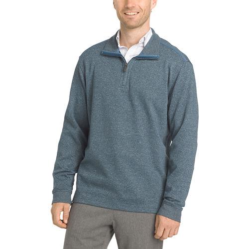 Van Heusen Long Sleeve Flex Quarter Zip