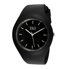 TKO ORLOGI Candy II Black Silicone Strap Sport Watch