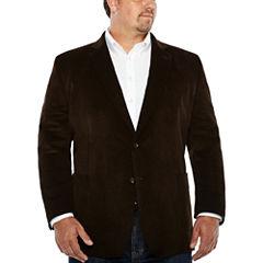Stafford Corduroy Sport Coat-Big and Tall