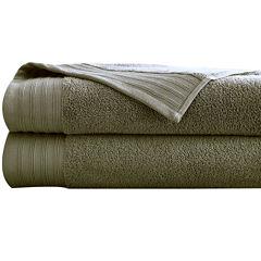 Pacific Coast Textiles™ Quick Dry 2-Pc. Bath Sheet Set