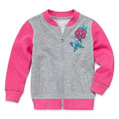 Arizona Girls Lightweight Bomber Jacket-Toddler