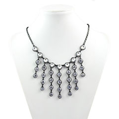 Liz Claiborne Clear Statement Necklace
