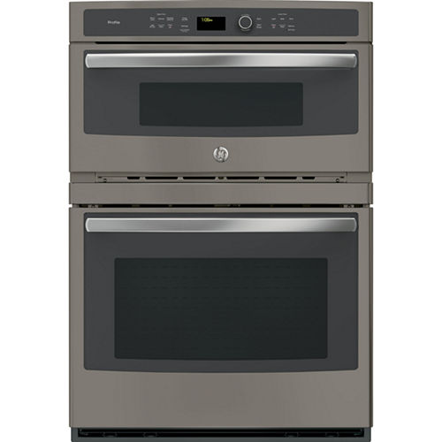 GE Profile™ Series 30 Built-In Combination Convection Microwave/Convection Wall Oven
