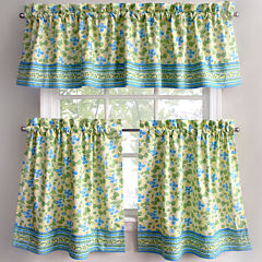 Park B. Smith Boutique Flowers Kitchen Curtains
