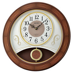 Seiko White Wall Clock-Qxm367blh