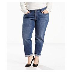 Levi's® Boyfriend Jeans - Plus