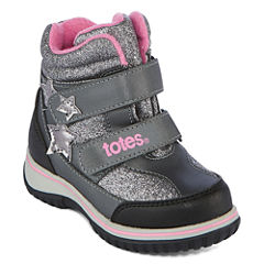 Totes Mia Cold Weather Boot Girls Water Resistant Winter Boots - Toddler