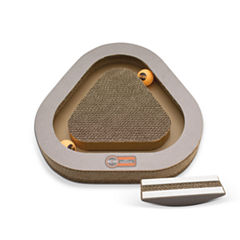 K & H Manufacturing Kitty Tippy Triangle Cardboard Toy