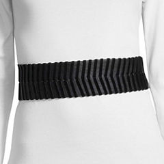 Libby Edelman Velvet Lace Wide Belt