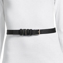 Libby Edelman Skinny Multi Loop Belt