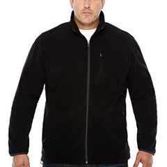 The Foundry Big & Tall Supply Co. Midweight Fleece Jacket - Big and Tall